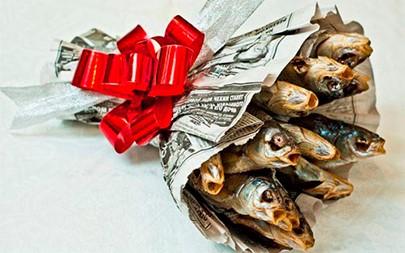 букет сушёной рыбы