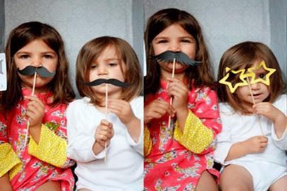 дети с усами
